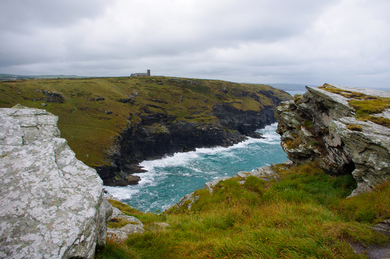 Tintagel's cliffs