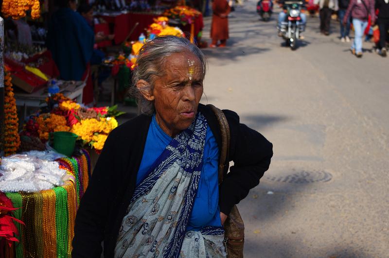 La donna del mercato