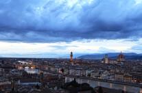 L'Arno di sera
