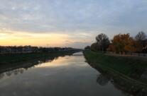 L'Arno dal Ponte alla Vittoria