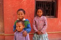 Bambini nepalesi