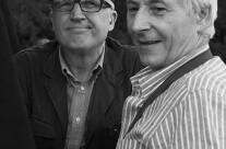 Paolo Hendel con il sindaco