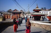 Il ponte sul Bagmati