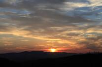 Sole sulla valle